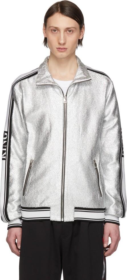 Dolce & Gabbana Silver Track Jacket
