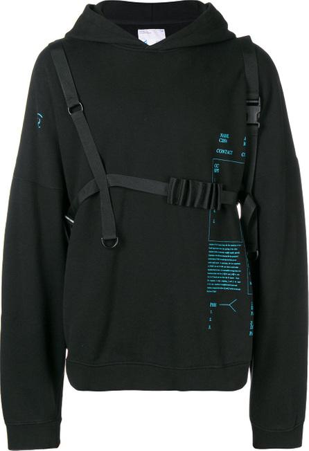 C2H4 Printed hoodie