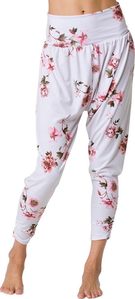 ONZIE Floral-Print Slouchy Active Harem Pants