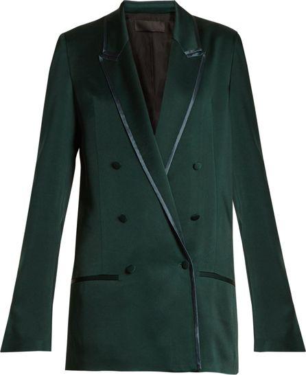 Haider Ackermann Juiper double-breasted satin jacket
