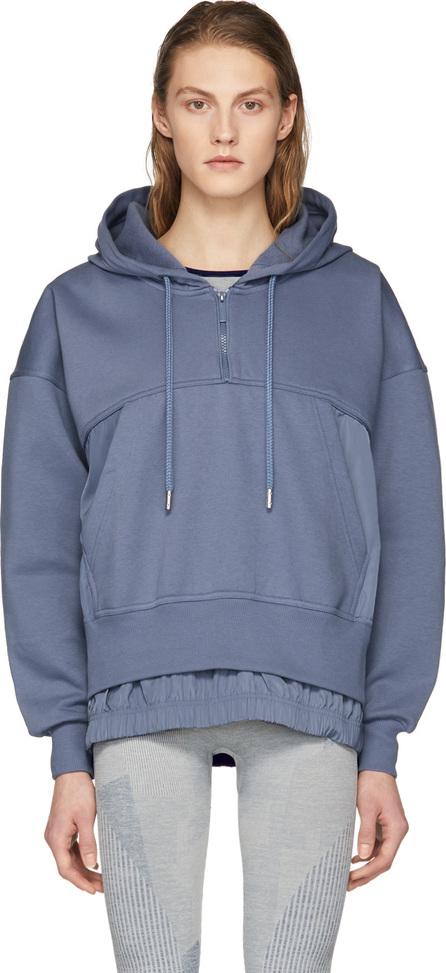 Adidas By Stella McCartney Blue Long Hoodie