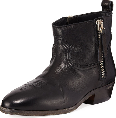 Golden Goose Deluxe Brand Viand Flat Leather Ankle Boots