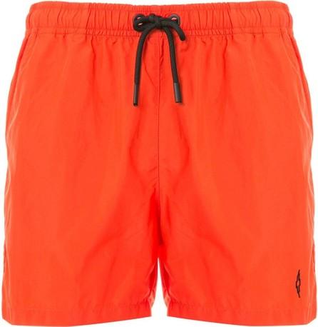 Marcelo Burlon Cross logo swim shorts