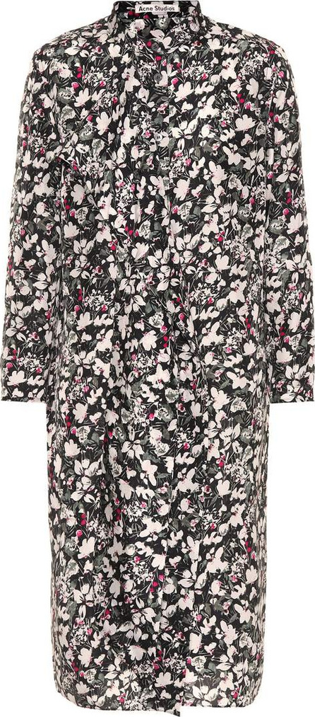 Acne Studios Doree floral-printed silk dress