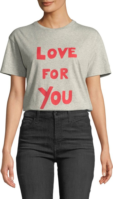 Bella Freud Love For You Crewneck Tee