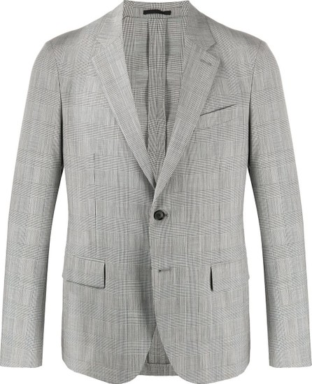 Versace Micro-check single-breasted blazer