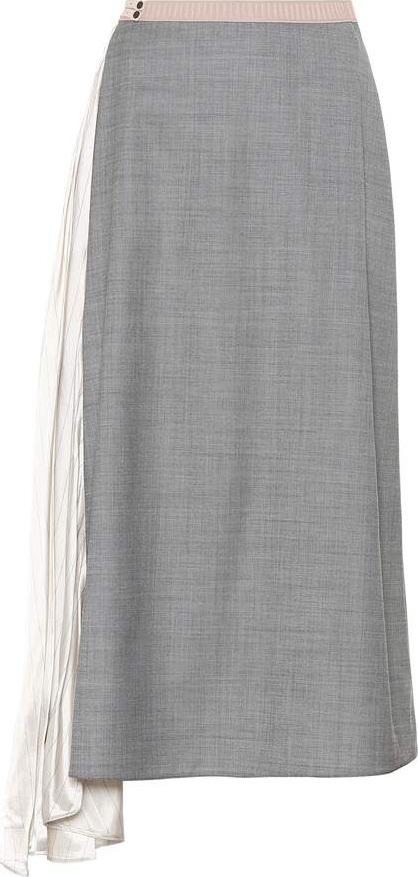Prada Wool and silk skirt