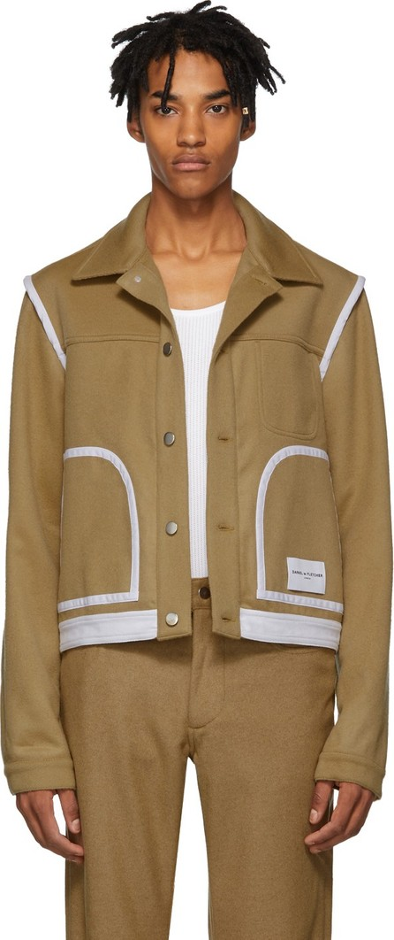 Daniel W. Fletcher Tan Wool Jeans Jacket