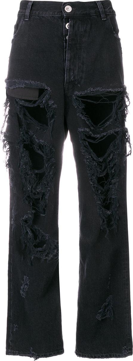 Ben Taverniti Unravel Project Rigid denim baggy boy jeans