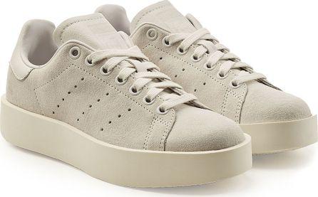 Adidas Originals Stan Smith Platform Suede Sneakers
