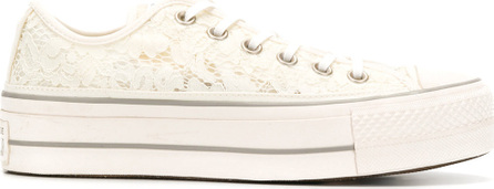 Converse Embroidered lace-up sneakers