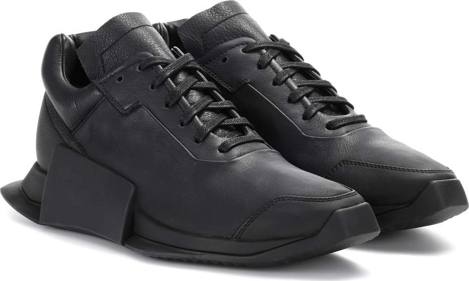 298ddecd0c8 Adidas by Rick Owens RO LEVEL RUNNER LOW II leather sneakers - Mkt