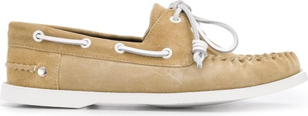 LOEWE Lace-up boat shoes