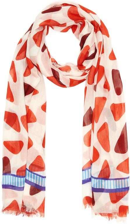 Franco Ferrari 'Danao' contrast multi dot scarf