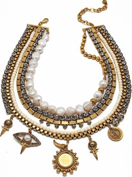 Dylanlex Sloane Pearl & Charm Necklace