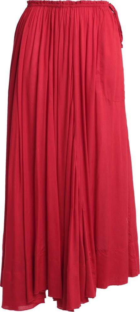Antik Batik Bowly gathered voile maxi skirt