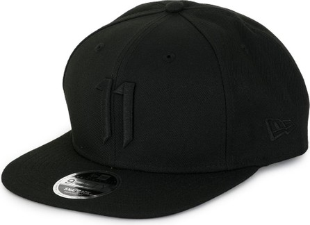 11 By Boris Bidjan Saberi Embroidered logo cap