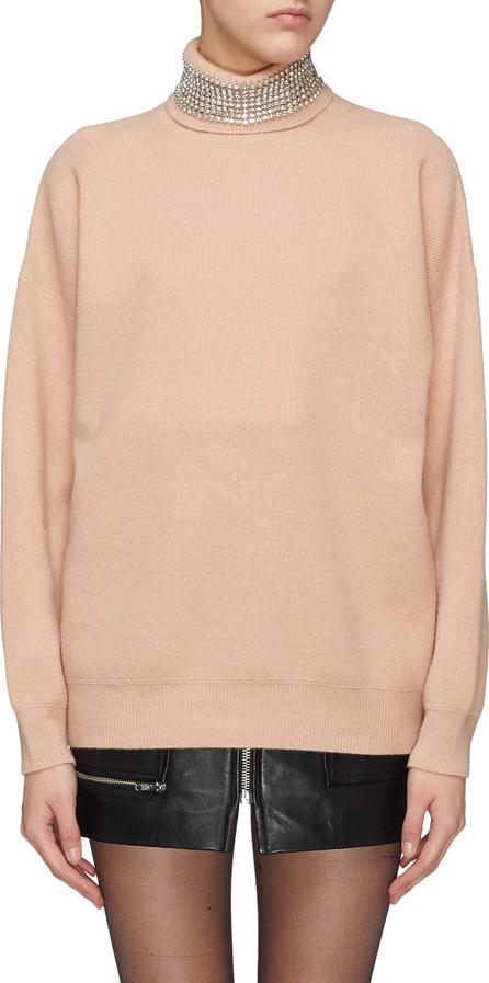 Alexander Wang Strass embellished oversized turtleneck sweater