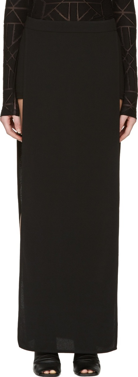 Gareth Pugh Black Joan of Arc Shorts