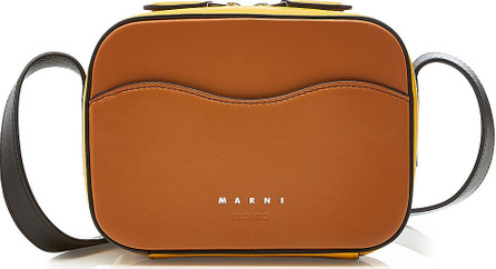 Marni Shell Crossbody Leather Bag