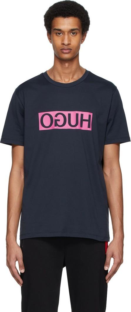 HUGO Navy Dicagolino T-Shirt