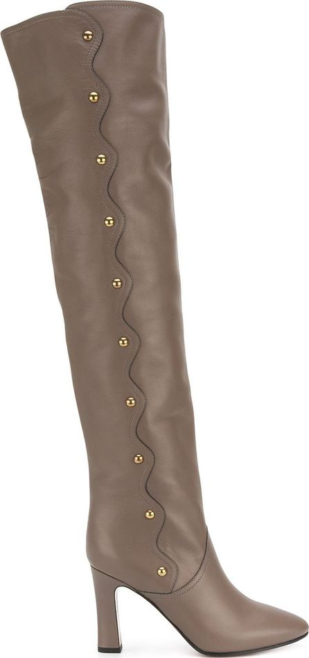 Chloe Quaylee over-the-knee boots