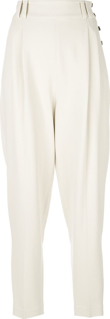 3.1 Phillip Lim - side button detail trousers
