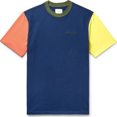Aimé Leon Dore Logo-Embroidered Colour-Block Cotton-Jersey T-Shirt