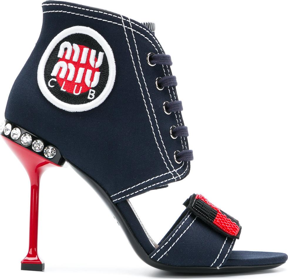 Miu Miu - Pin heeled sandals