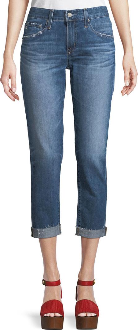 AG Jeans Ex-Boyfriend Mid-Rise Slim Crop Jeans