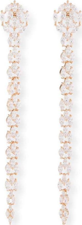 Fallon Monarch Marquis Fishtail Earrings