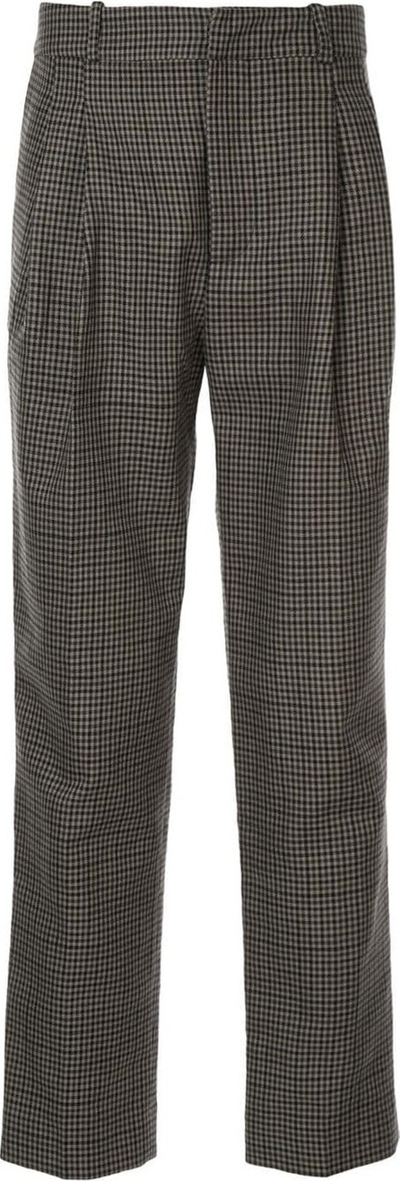 Faith Connexion Gingham patterned tailored trousers