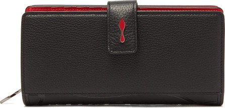 Christian Louboutin Paloma grained-leather wallet