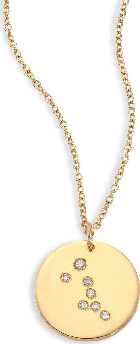 Bare Constellations Taurus Diamond & 18K Yellow Gold Pendant Necklace