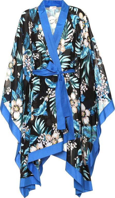 DIANE von FURSTENBERG Floral cotton and silk kimono jacket