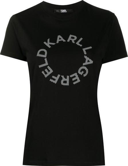 Karl Lagerfeld Circle logo cotton T-Shirt