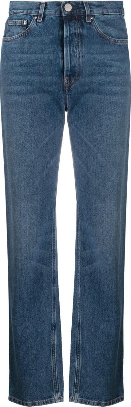 Totême High rise straight-leg jeans