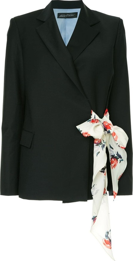 Anna October Side scarf blazer