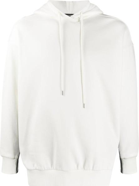 Stella McCartney Logo-tape regular-fit hoodie