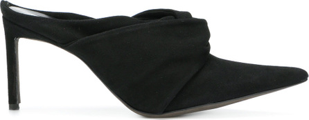 Haider Ackermann Twisted detail pointed mules