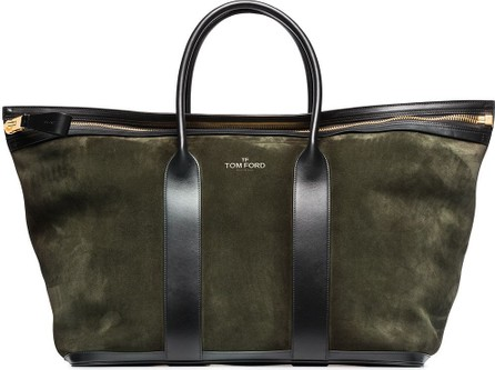TOM FORD Suede holdall