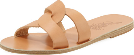 Ancient Greek Sandals Vachetta Interlocking Flat Slide Sandal