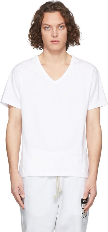 Maison Margiela White 'AIDS' T-Shirt