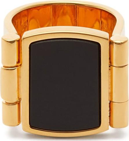 Jil Sander Flat-top onyx ring