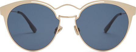 Dior Nebula cat-eye metal sunglasses