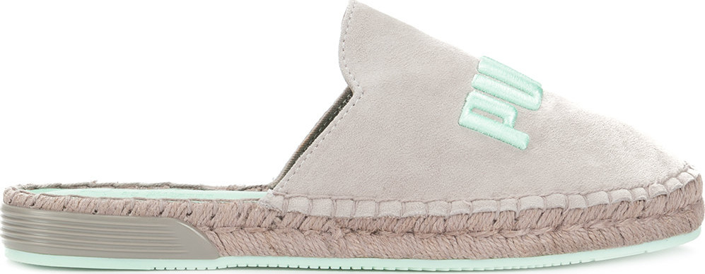 new product e4fd4 0a1ae FENTY PUMA by Rihanna Embroidered logo flat espadrilles - Mkt