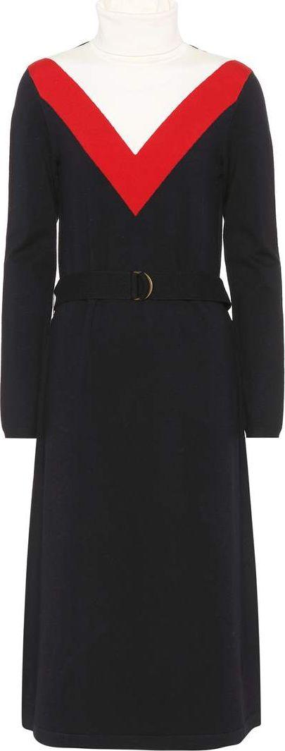 Tory Burch - Viven wool-blend dress