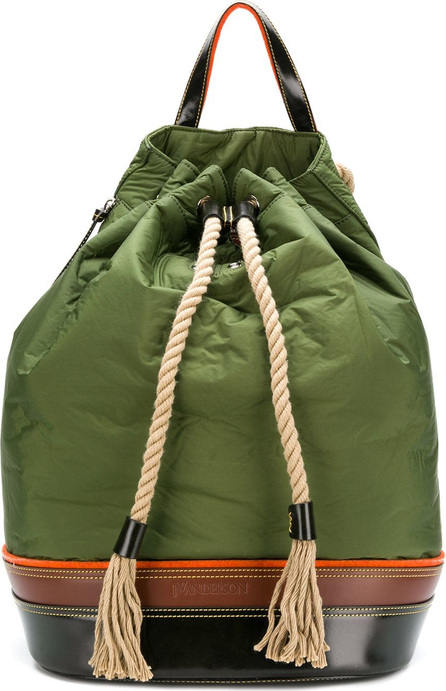 J.W.Anderson Colour-block drawstring backpack