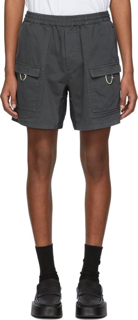 Acne Studios Grey Rosso Shorts