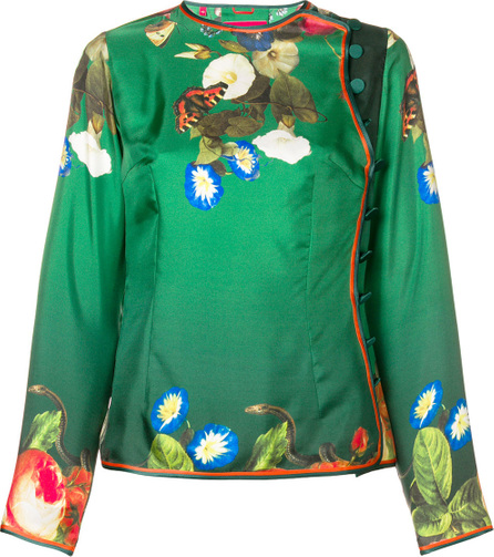 F.R.S For Restless Sleepers Floral embroidered blouse